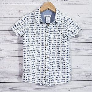 Boy's Tommy Bahama button down shirt